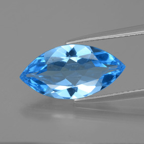 thumb image of 4ct Marquise Facet Swiss Blue Topaz (ID: 399755)