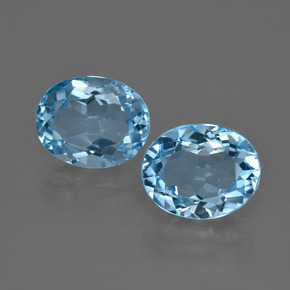 Swiss Blue Topaz Gem - 3.6ct Oval Facet (ID: 401736)