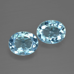 Swiss Blue Topaz Gem - 3.2ct Oval Facet (ID: 401829)