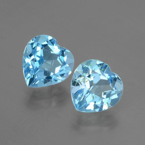 thumb image of 3ct Heart Facet Swiss Blue Topaz (ID: 404475)