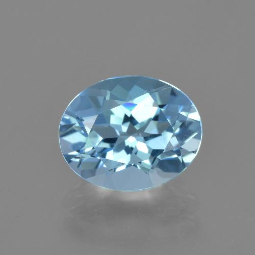 thumb image of 3.2ct Oval Facet Sky Blue Topaz (ID: 404795)