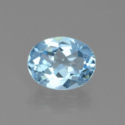 thumb image of 2.8ct Oval Facet Sky Blue Topaz (ID: 404872)