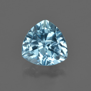 thumb image of 2.8ct Trillion Facet Swiss Blue Topaz (ID: 414121)