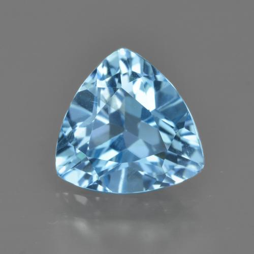thumb image of 2.8ct Trillion Facet Swiss Blue Topaz (ID: 414167)