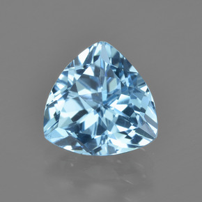 thumb image of 2.9ct Trillion Facet Swiss Blue Topaz (ID: 414232)