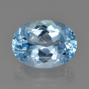 23.4ct Oval Facet Swiss Blue Topaz Gem (ID: 415234)