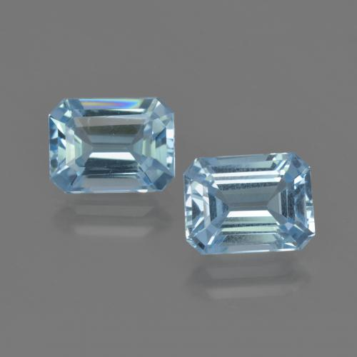 Maya Blue Topaz Gem - 2.6ct Octagon Facet (ID: 419328)