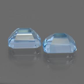 Details about  /Natural Sky Blue Topaz 7x9mm Octagon Faceted Cut Loose Gemstones