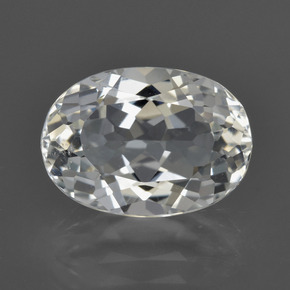 Warm White Topacio Gema - 6.2ct Forma ovalada (ID: 422039)
