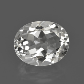 Warm White Topacio Gema - 4.9ct Forma ovalada (ID: 422065)