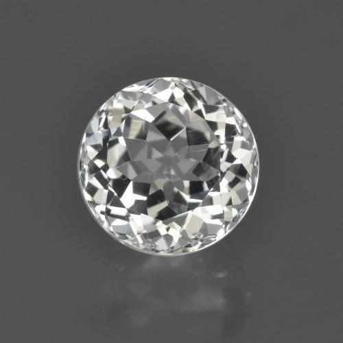 Warm White Topacio Gema - 4.4ct Faceta Redonda (ID: 422550)