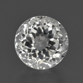 Warm White Topacio Gema - 5.8ct Faceta Redonda (ID: 422577)