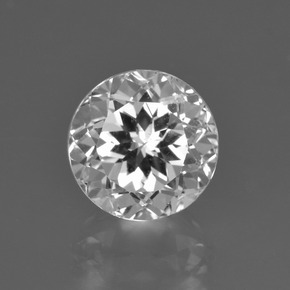 thumb image of 4ct Round Facet White Topaz (ID: 425651)