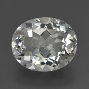 thumb image of 5.6ct Oval Facet White Topaz (ID: 425871)