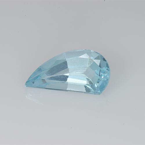 Swiss Blue Topaz Gem - 1.5ct Fancy Facet (ID: 428563)