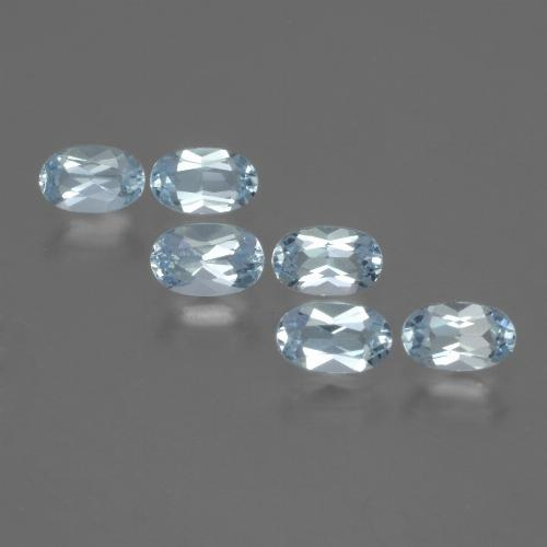 Swiss Blue Topaz Gem - 0.3ct Oval Facet (ID: 429804)