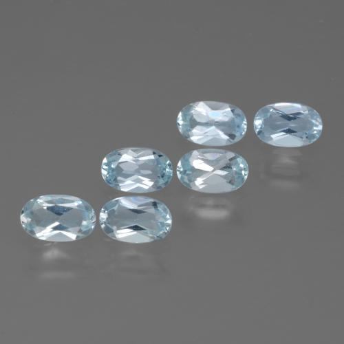 Swiss Blue Topaz Gem - 0.3ct Oval Facet (ID: 429881)