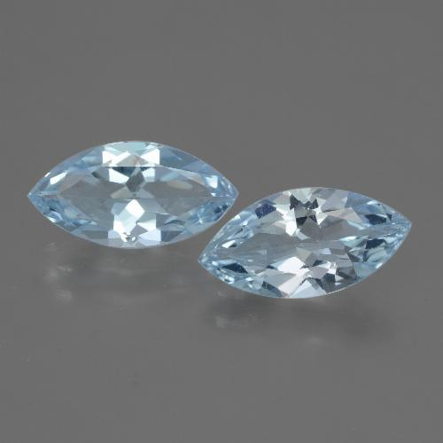Light Blue Topaz Gem - 1.9ct Marquise Facet (ID: 432497)