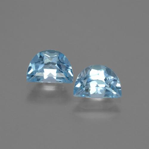 Swiss Blue Topaz Gem - 1.1ct Fancy Facet (ID: 432532)