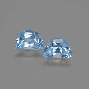Swiss Blue Topaz Gem - 0.9ct Fancy Facet (ID: 432533)