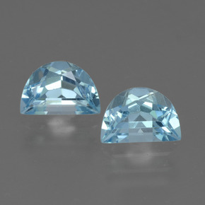 Swiss Blue Topaz Gem - 1ct Fancy Facet (ID: 432568)
