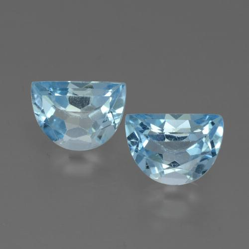 Swiss Blue Topaz Gem - 1ct Fancy Facet (ID: 432570)