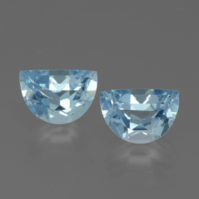 Swiss Blue Topaz Gem - 1ct Fancy Facet (ID: 432571)