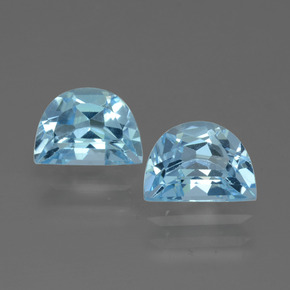 Swiss Blue Topaz Gem - 1.2ct Fancy Facet (ID: 432574)