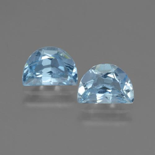 Swiss Blue Topaz Gem - 1.1ct Fancy Facet (ID: 432714)