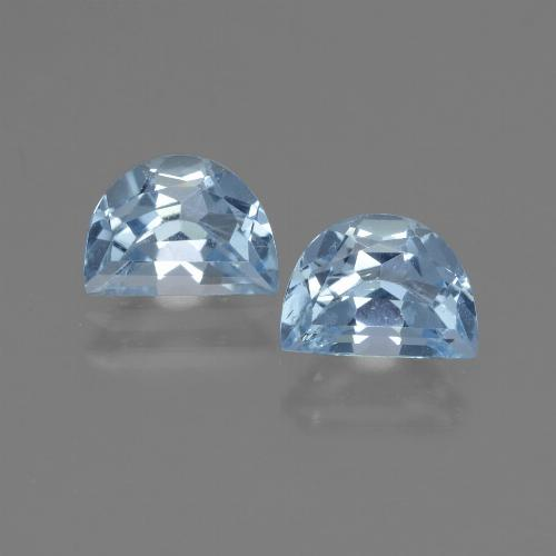 Swiss Blue Topaz Gem - 1.1ct Fancy Facet (ID: 432716)