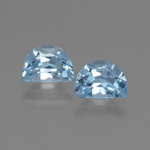 Swiss Blue Topaz Gem - 1.1ct Fancy Facet (ID: 432718)
