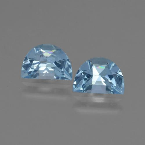 Swiss Blue Topaz Gem - 0.9ct Fancy Facet (ID: 432719)
