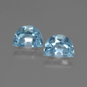 Swiss Blue Topaz Gem - 1ct Fancy Facet (ID: 432720)