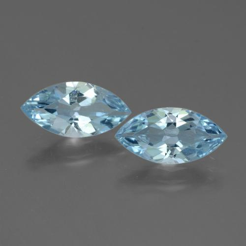 Sky Blue Topaz Gem - 1.8ct Marquise Facet (ID: 432748)