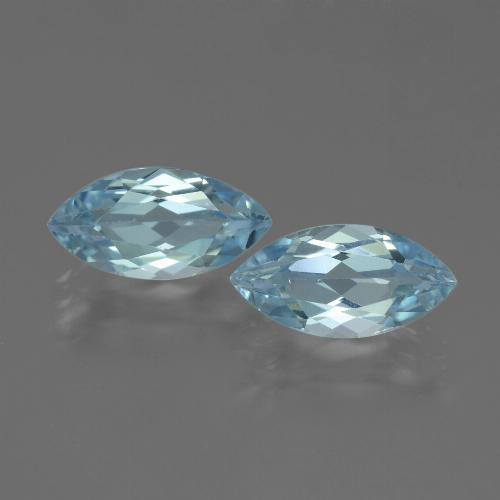 Swiss Blue Topaz Gem - 2.3ct Marquise Facet (ID: 432750)