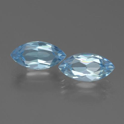 Baby Blue Topaz Gem - 2.6ct Marquise Facet (ID: 432752)