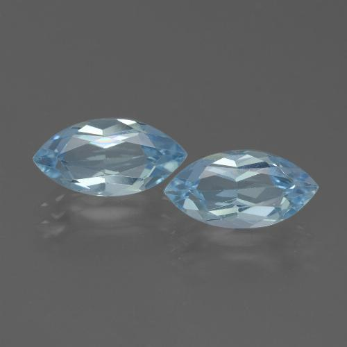 Swiss Blue Topaz Gem - 2.3ct Marquise Facet (ID: 432753)