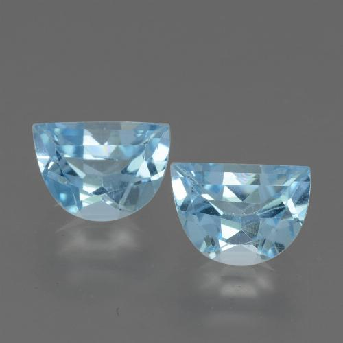 Swiss Blue Topaz Gem - 1.1ct Fancy Facet (ID: 432821)