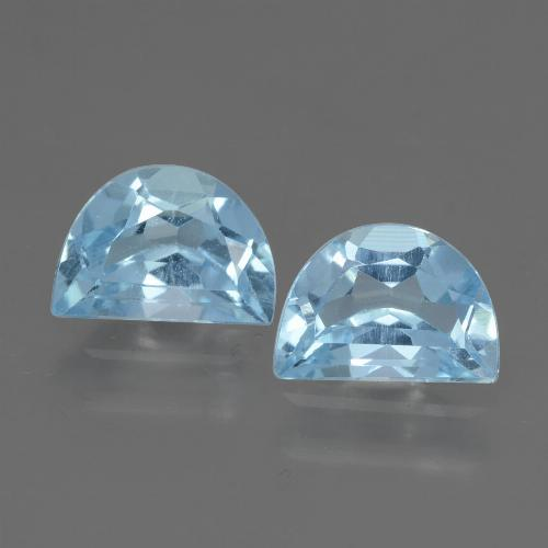 Swiss Blue Topaz Gem - 1.1ct Fancy Facet (ID: 432857)