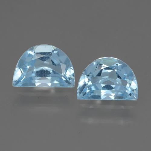 1ct Fancy Facet Swiss Blue Topaz Gem (ID: 432858)
