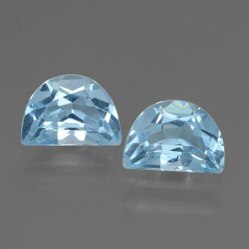 Swiss Blue Topaz Gem - 1.1ct Fancy Facet (ID: 432863)
