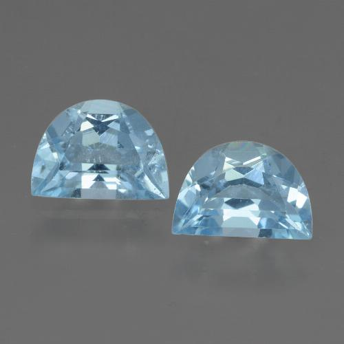 Swiss Blue Topaz Gem - 1ct Fancy Facet (ID: 432864)
