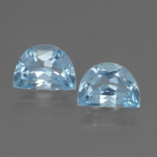 Swiss Blue Topaz Gem - 1.1ct Fancy Facet (ID: 432865)