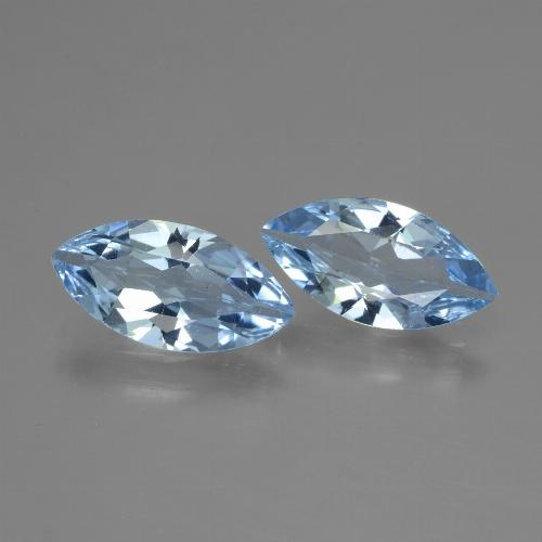 Swiss Blue Topaz Gem - 1.8ct Marquise Facet (ID: 432902)
