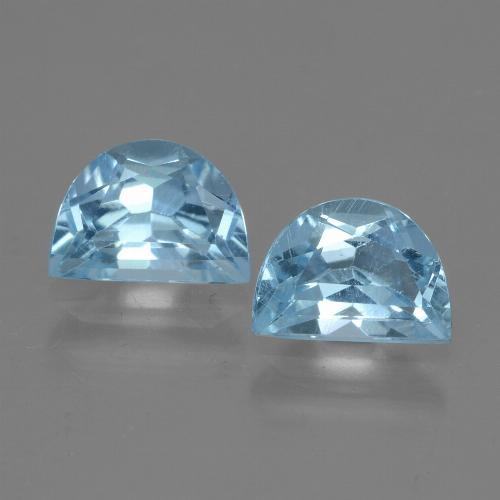 Swiss Blue Topaz Gem - 1.1ct Fancy Facet (ID: 432940)