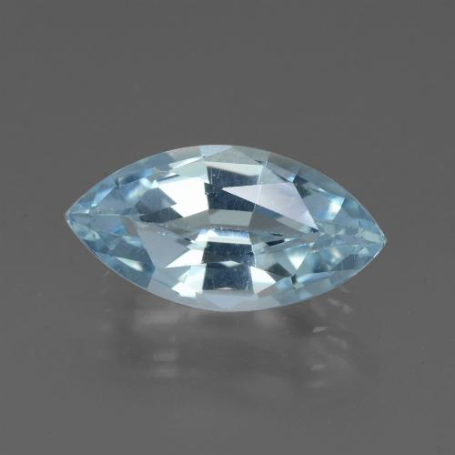 Swiss Blue Topaz Gem - 2.2ct Marquise Facet (ID: 432964)