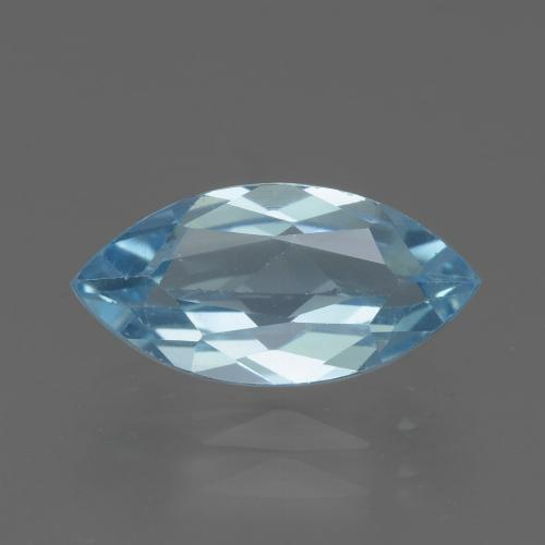 Swiss Blue Topaz Gem - 2.2ct Marquise Facet (ID: 432970)