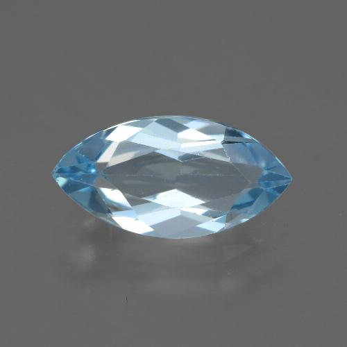 Swiss Blue Topaz Gem - 2.4ct Marquise Facet (ID: 433035)