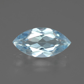 Swiss Blue Topaz Gem - 2.1ct Marquise Facet (ID: 433039)