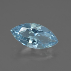 Swiss Blue Topaz Gem - 2ct Marquise Facet (ID: 433044)